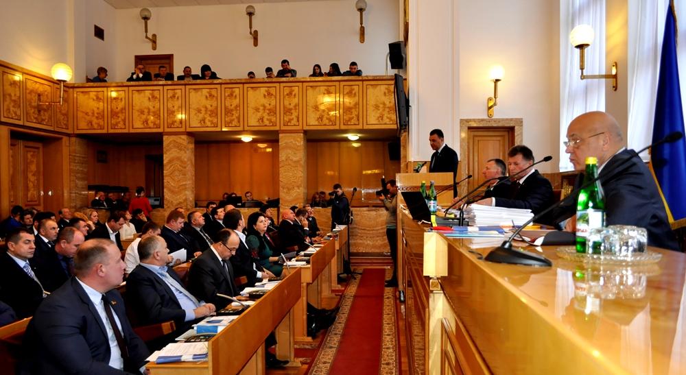 Депутати облради просять парламент та уряд врегулювати проблеми фінансового забезпечення життєдіяльності Закарпаття