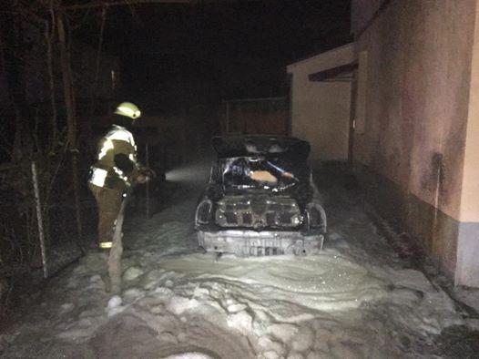 Поліція відкрила кримінальне провадження за фактом підпалу автівки ужгородської чиновниці