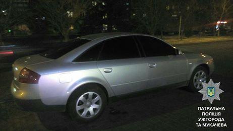Ужгородські патрульні виявили підроблені документи на автівку