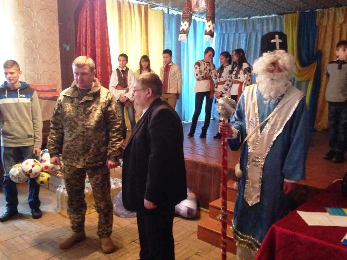 Прикордонники Мукачівського загону відвідали вихованців школи-інтернату