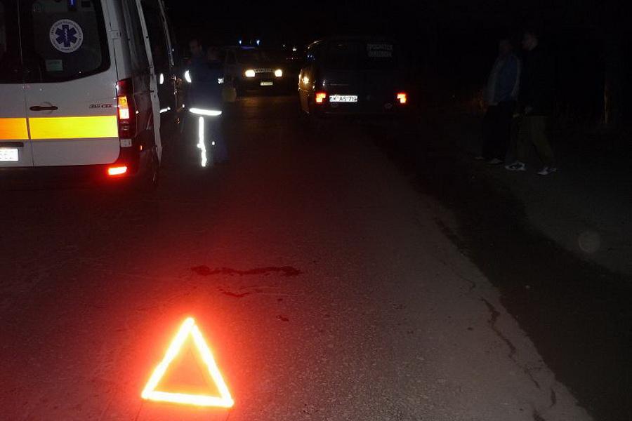 На трасі Київ-Чоп мікроавтобус смертельно травмував пішохода