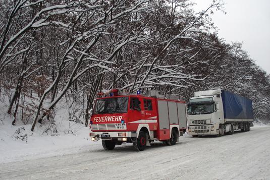 На Закарпатті обмежено рух вантажівок не тільки через перевали, а й по міжнародних та державних трасах