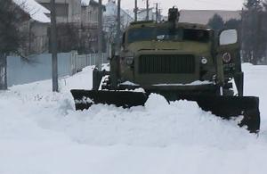 Мукачівщина просить допомоги у боротьбі зі снігом бійців 128-ої бригади