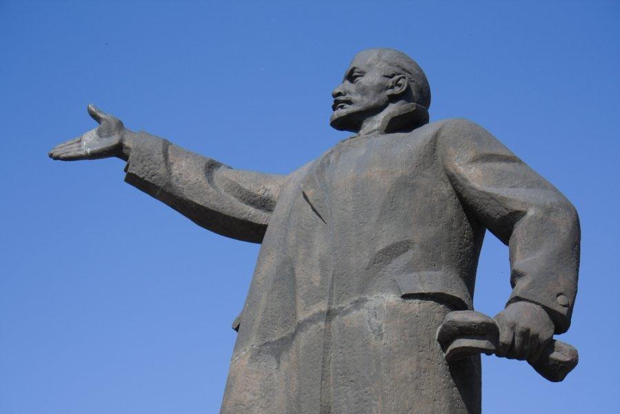 У січні у Чопі з аукціону продадуть пам'ятник Леніну