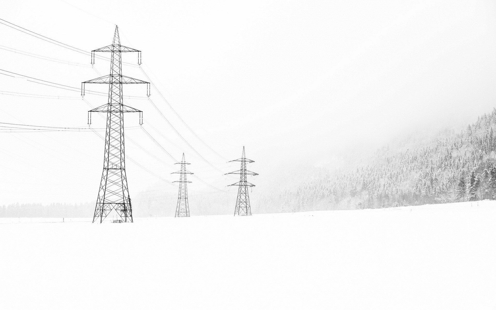 Кілька населених пунктів Закарпаття через снігопад залишились без світла