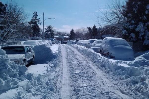 На Закарпаття насуваються потужні снігопади