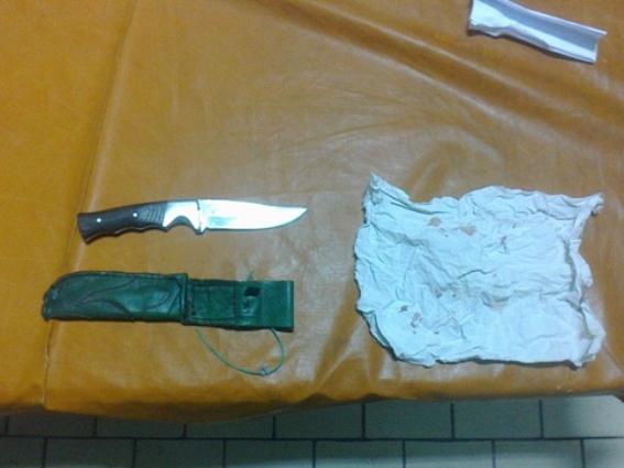 На Рахівщині біля кафе сварка між чоловіками завершилась ножовим ударом