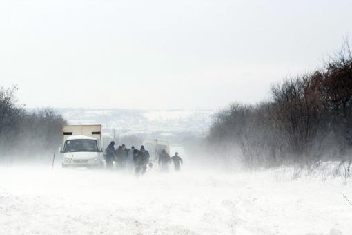 На Воловеччині проїзд до кількох сіл заблокований снігом