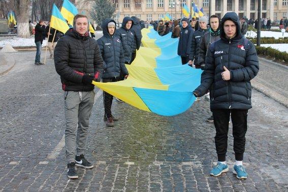 День Соборності в Ужгороді відзначать живим ланцюгом єднання