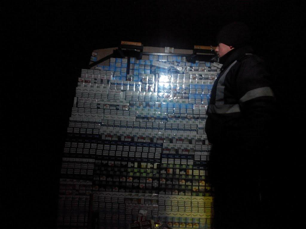 Вночі на кордоні затримано контрабанду на понад 300 тисяч гривень