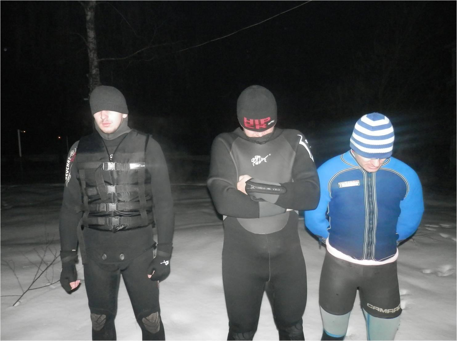 На Рахівщині прикордонники затримали трьох контрабандистів у гідрокостюмах