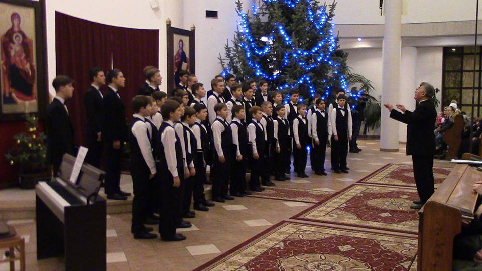 Словаччину із різдвяним концертом відвідав Мукачівський хор хлопчиків та юнаків