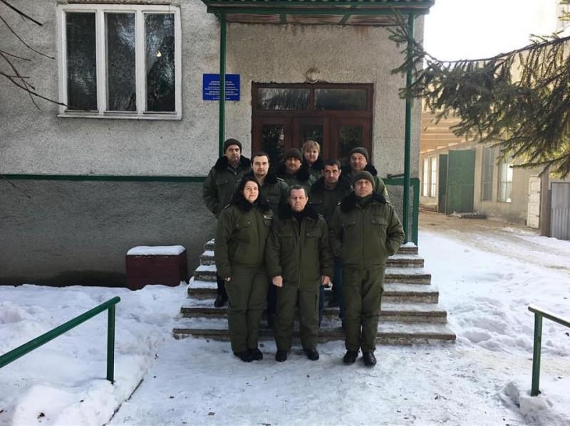 Лісівники Закарпаття презентували новий зразок власної уніформи