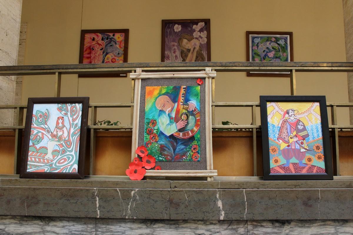 В Ужгороді експонують художні роботи за творчістю Шевченка від понад 150 школярів