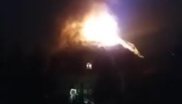 В Ужгороді горить будинок екс-керівника закарпатської міліції, – соцмережі