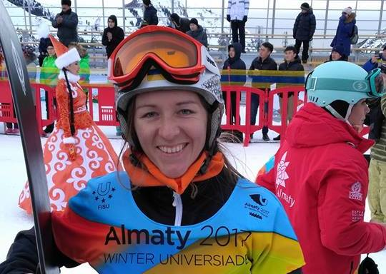 Закарпатка Аннамарі Данча здобула дебютну медаль для збірної України на зимовій Універсіаді у Казахстані