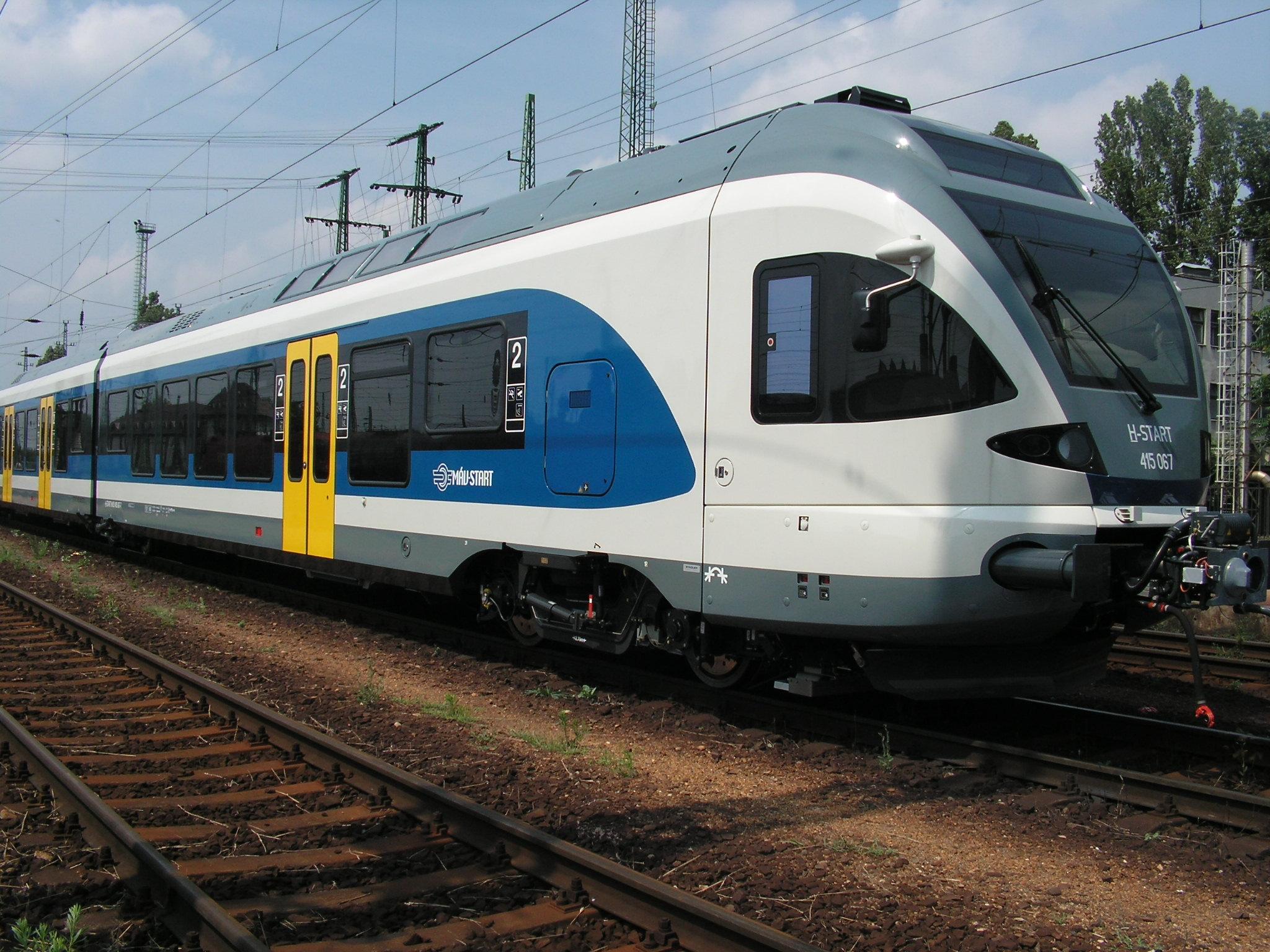"""Угорщина готова надати свій швидкісний поїзд для нового маршруту """"Мукачево – Будапешт"""""""
