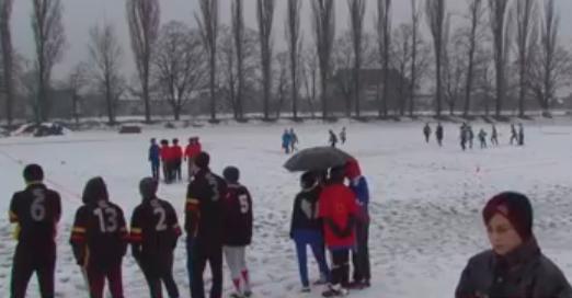 В Ужгороді вперше провели зимовий турнір з регбі