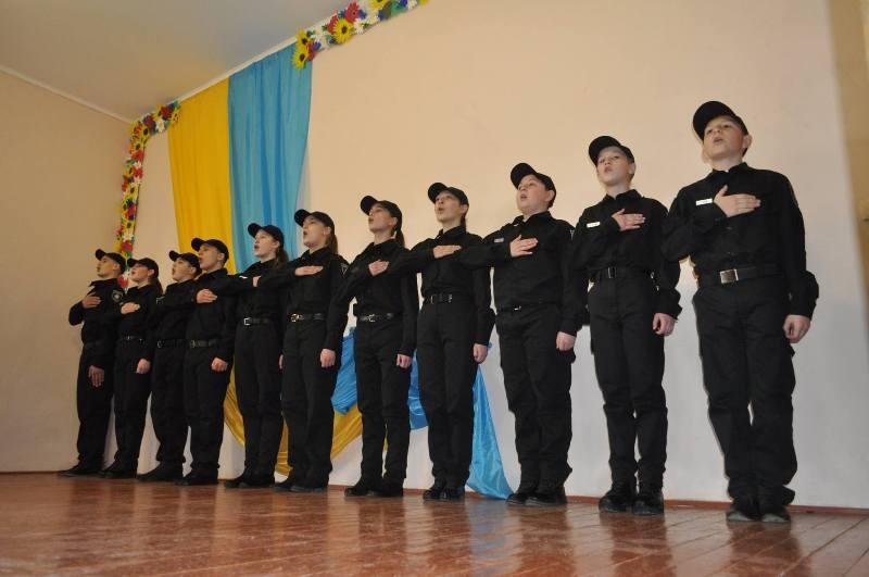 """Перший і поки єдиний в Україні """"Шкільний патруль"""" склав присягу на Закарпатті"""