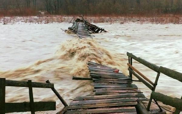 Вода в Латориці поблизу Чопа не досягає 80 см до рівня руйнівного паводка 2001 року