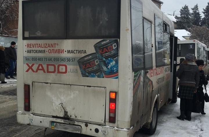 В Ужгороді розгорівся черговий скандал через поведінку водія маршрутки