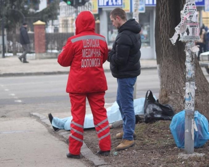 На одній із ужгородських вулиць раптово помер чоловік