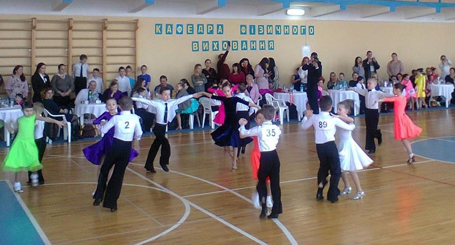 В Ужгород на міжнародний танцювальний турнір «Грація-2017» з'їхалися спортсмени з України, Словаччини та Угорщини