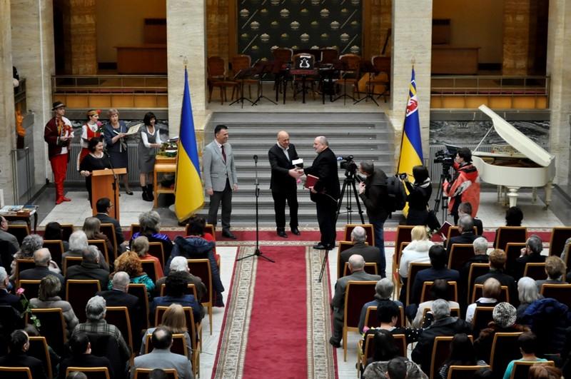 Найуспішніших митців та літераторів відзначили в Ужгороді