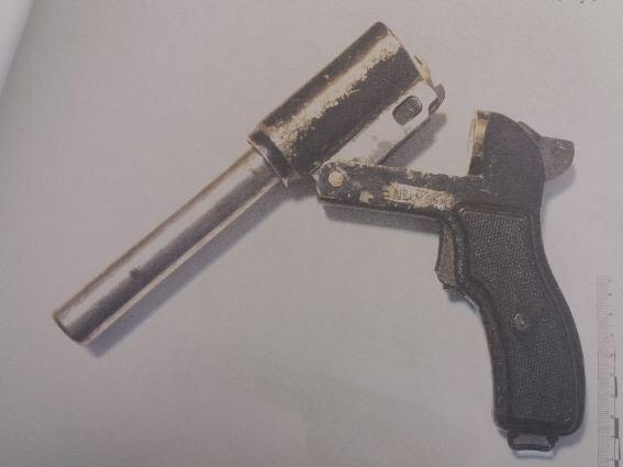 Житель Перечинщини тримав удома зброю