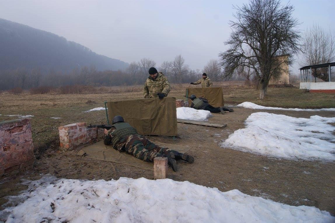 На Виноградівщині пройшли навчання із територіальної оборони