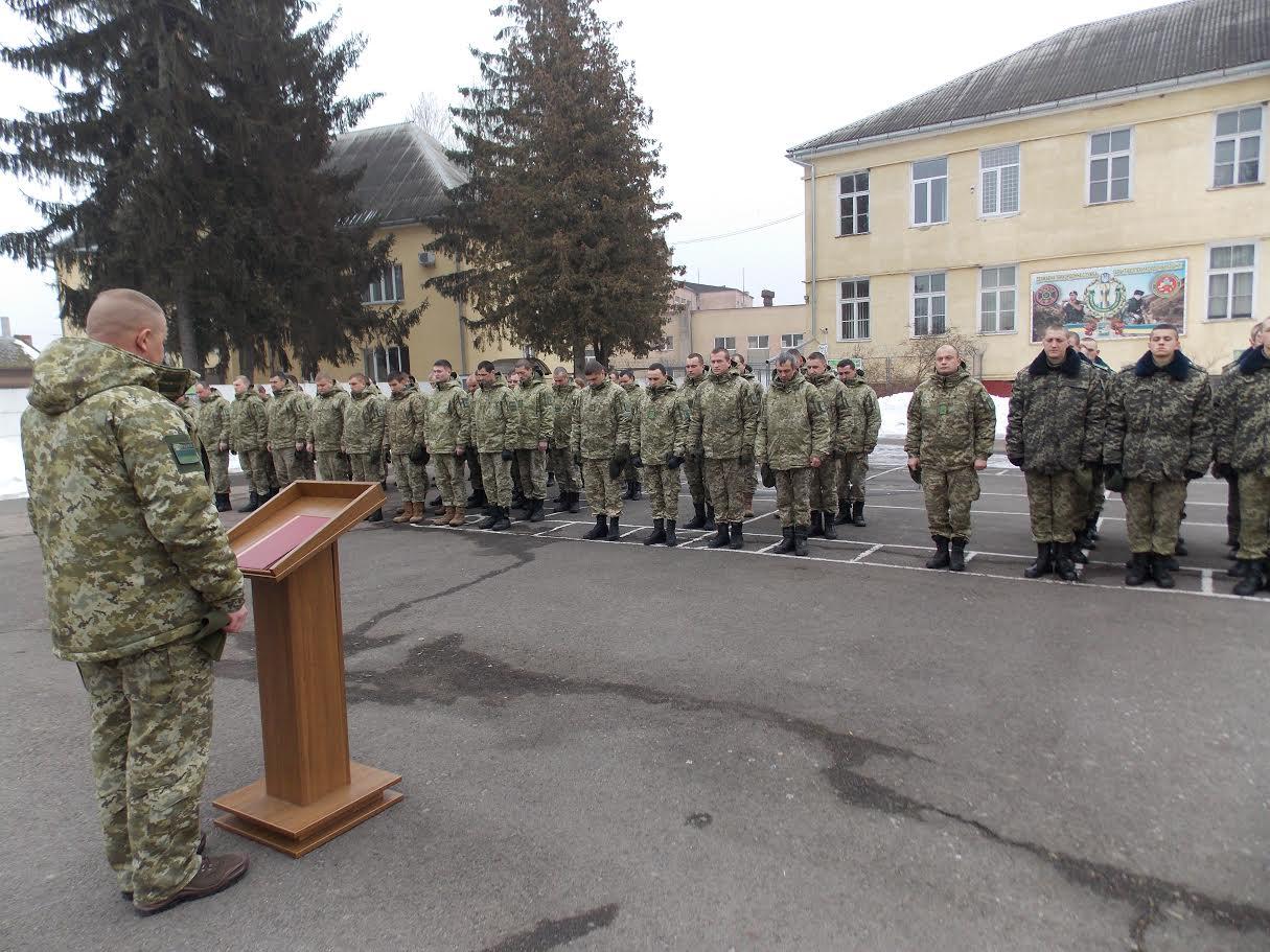Чопський прикордонний загін вшанував пам'ять загиблого поблизу Дебальцева Героя