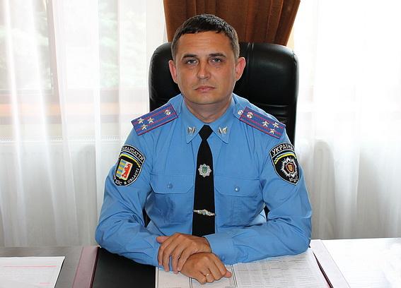 Керівництво закарпатської поліції поспілкується з жителями Берегова