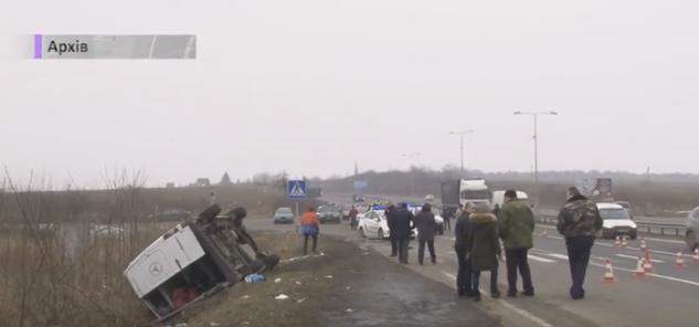 На водія приватної маршрутки, який спричинив ДТП на Ужгородщині, відкрили кримінальне провадження