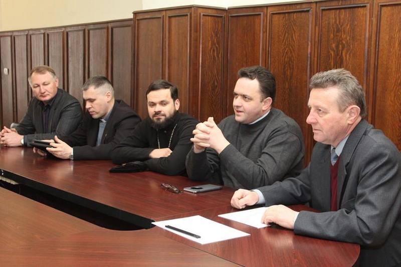 Андрій Балога зустрівся з духовенством міста над Латорицею