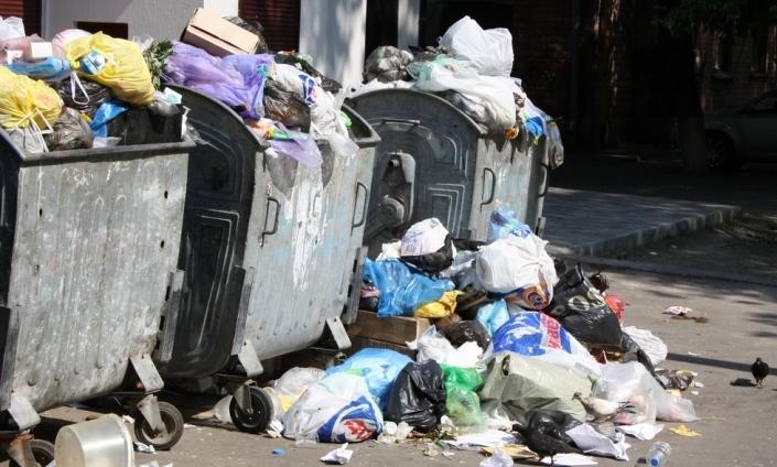 В Ужгороді малеча змушена йти в школу повз купи сміття