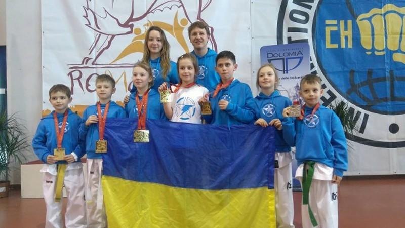 Ужгородські спортсмени привезли з Італії «золото» та «срібло»
