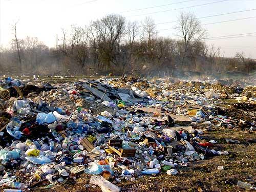 В Ужгороді один із мікрорайонів тоне у смітті