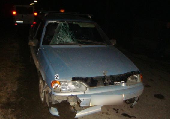 На Рахівщині водій збив пішохода і втік