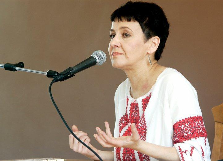 Українська письменниця Оксана Забужко приїде на Закарпаття