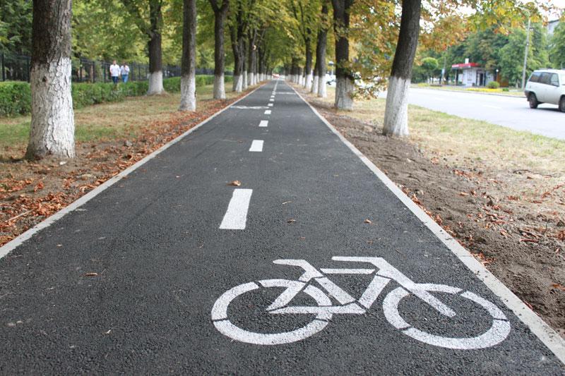 В Ужгороді облаштують велодоріжки