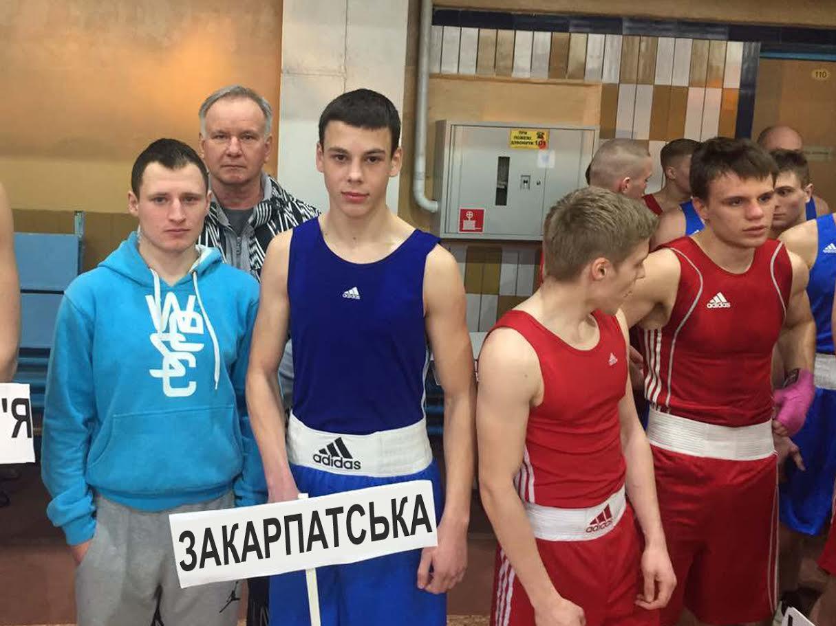 Закарпатець на престижному всеукраїнському турнірі з боксу переміг майстра спорту України
