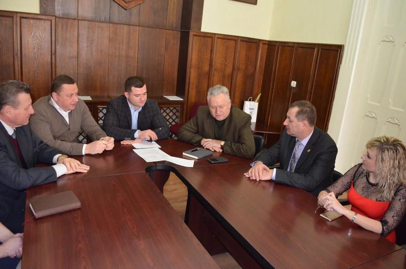 Мукачево приймало делегацію з Коростеня