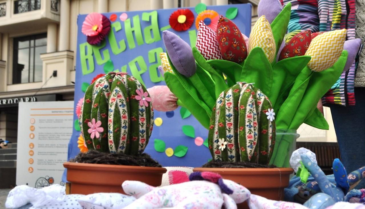 В Ужгороді стартував триденний весняний хендмейд-ярмарок