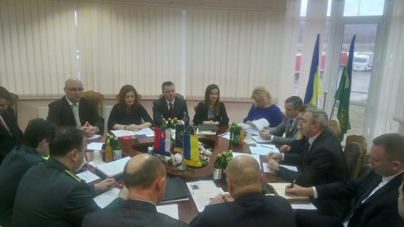 В Ужгороді обговорили співробітництво на українсько-словацькому кордоні