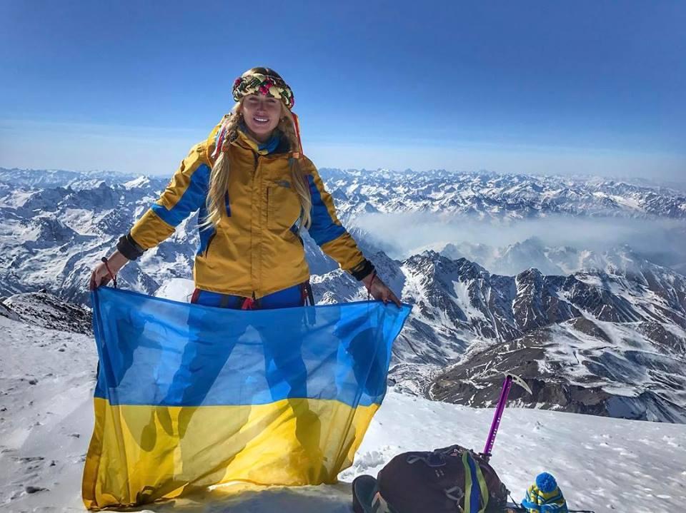 У Міжнародний жіночий день мукачівка Ірина Галай підкорила найвищу вершину Росії