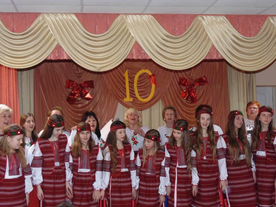 У Оноківцях відсвяткували 10-річчя від заснування народного вокального ансамблю «Карпатські голоси»
