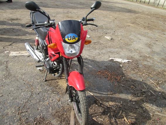 На Тячівщині вкрали мотоцикл вартістю 25 тисяч гривень, а потім продали