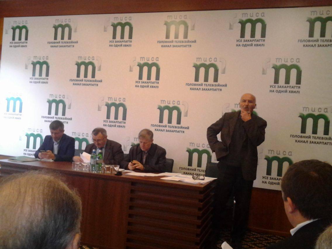 На Закарпаті обирали голову обласної організації Національної спілки журналістів України