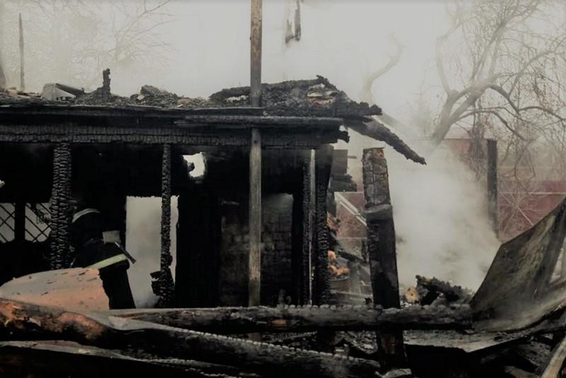 На Тячівщині згорів житловий будинок