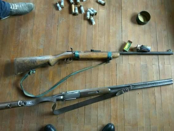 На Ужгородщині чоловік тримав удома зброю та набої до неї